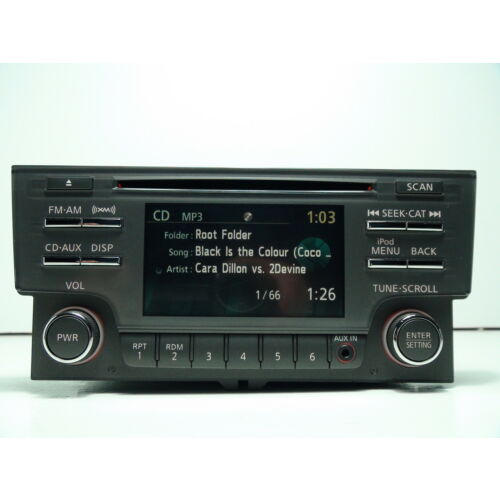 nissan-sentra-2013-2014-cd-mp3-xm-ipod-player-aux-in-gray-tested