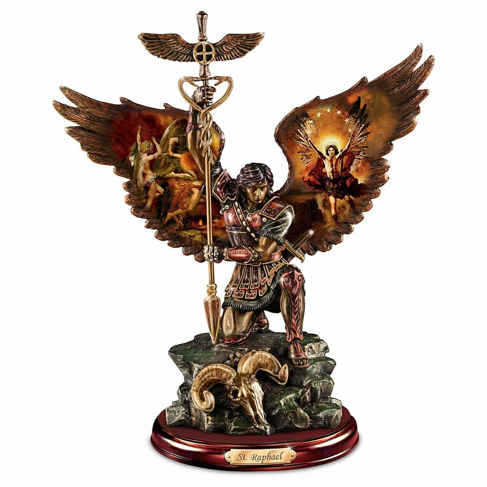 Archangel Saint Raphael Statue The Warrior St Raphael
