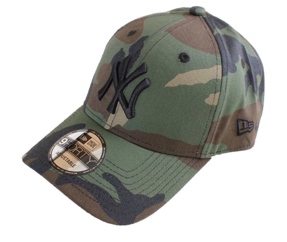 727bf0f3630 LEAGUE ESSENTIAL NEW YORK YANKEES NEW ERA 9FORTY CAP. CAMO 190529107332