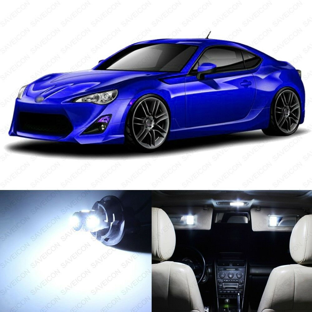 Details About 6 X White Led Interior Lights Package For 2017 2016 Scion Frs Pry Tool