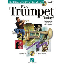 Play Trumpet Today 1 Learn Beginner Music Lessons Hal Leonard Book CD Pack NEW