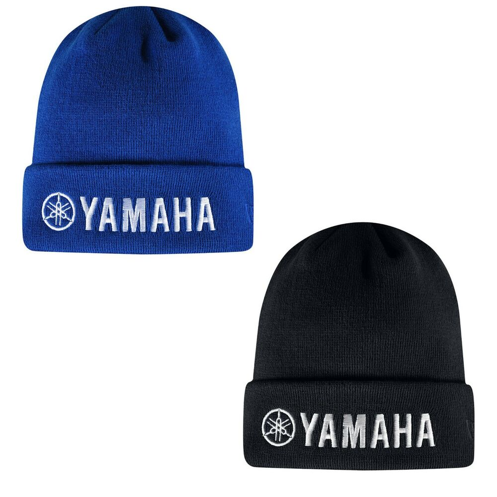 5ec41106306a7 Details about Troy Lee Designs TLD Team Licensed Yamaha Factory Beanie  Black Blue 715648