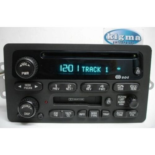 chevy-impala-monte-carlo-venture-2000-2001-cd-cassette-player-up0-tested-2466bg