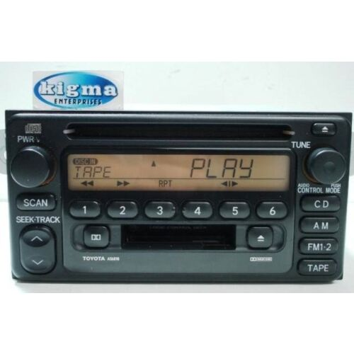 toyota-rav4-2001-2002-cd-cassette-player-amber-lights-a56818-tested-57879g