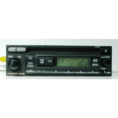 mitsubishi-galant-2002-2003-cd-player-radio-base-sound-w286-tested-58106ag