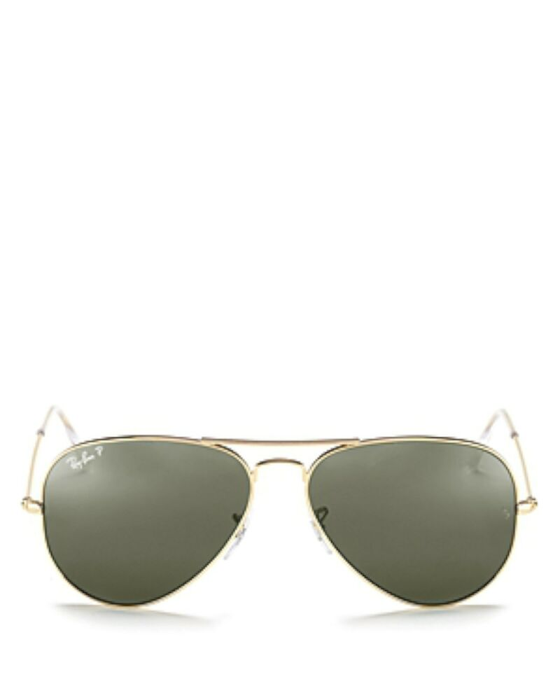 ae1c7bce6b Details about NEW Genuine Ray-Ban RB3025-001 58 Unisex AVIATOR CLASSIC Gold  Polar Sunglasses