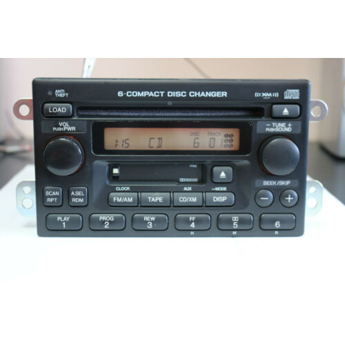 tested-wcode-honda-crv-2005-6disc-indash-cd-cassette-player-changer-1tn2