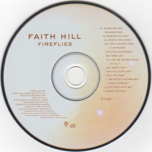 fireflies-by-faith-hill-2005-cd-used-vgood-cond-all-verified-listen-sample