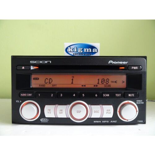 scion-tc-xb-xd-2008-2009-cd-mp3-wma-aac-player-aux-sat-t1808-see-test-video