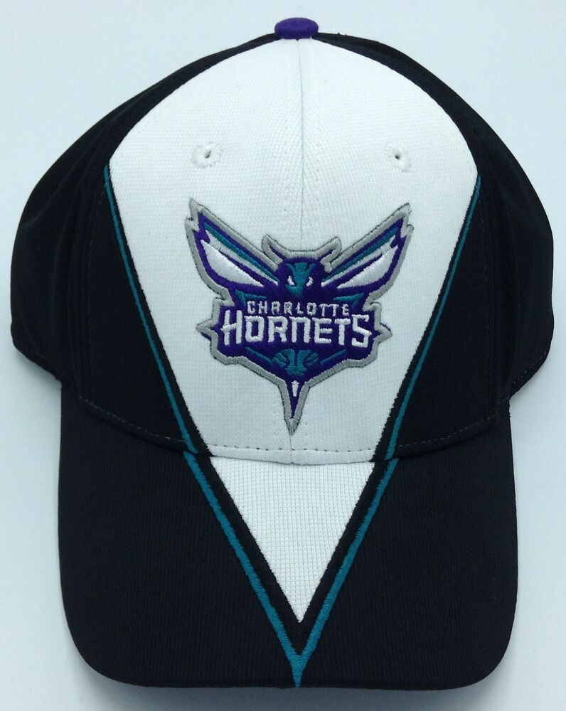 Nba Charlotte Hornets Structured Curved Brim Adjustable Fit Cap Hat Beanie New Basketball