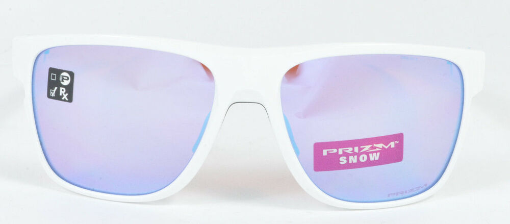 72d8eb7b2a9 Details about Oakley CROSSRANGE XL Polished White Prizm Sapphire Snow OO9360-0858  NIB