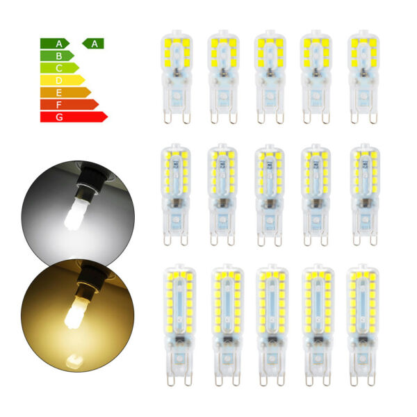 10pcs G9 2835 SMD Dimmable 5W 8W 12W Bulb LED Replacement Light Cool/Warm White