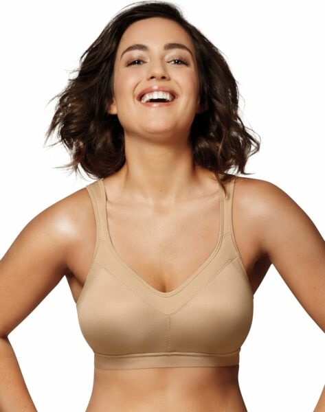 Playtex 18 Hour Active Lifestyle Wirefree Bra seamless Breathable Comfort 36-46