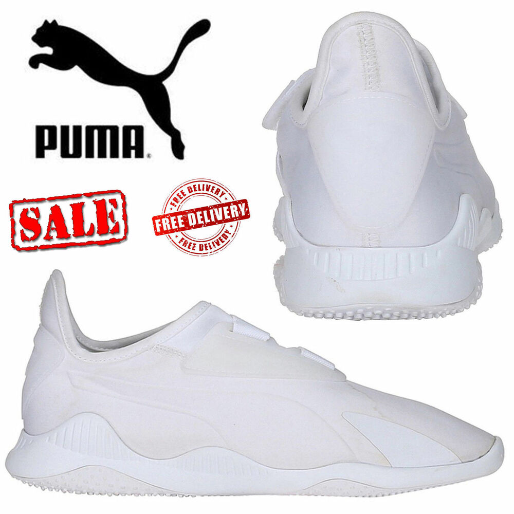 3f30940cc3f9 ✅ 24Hr DELIVERY✅ Puma Mostro White Mens Sports Casual Trainer Shoes rrp £65
