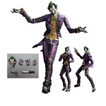 SQUARE ENIX KAI PLAY ARTS DC COMICS JOKER BATMAN ARKHAM CITY ACTION FIGURE #8