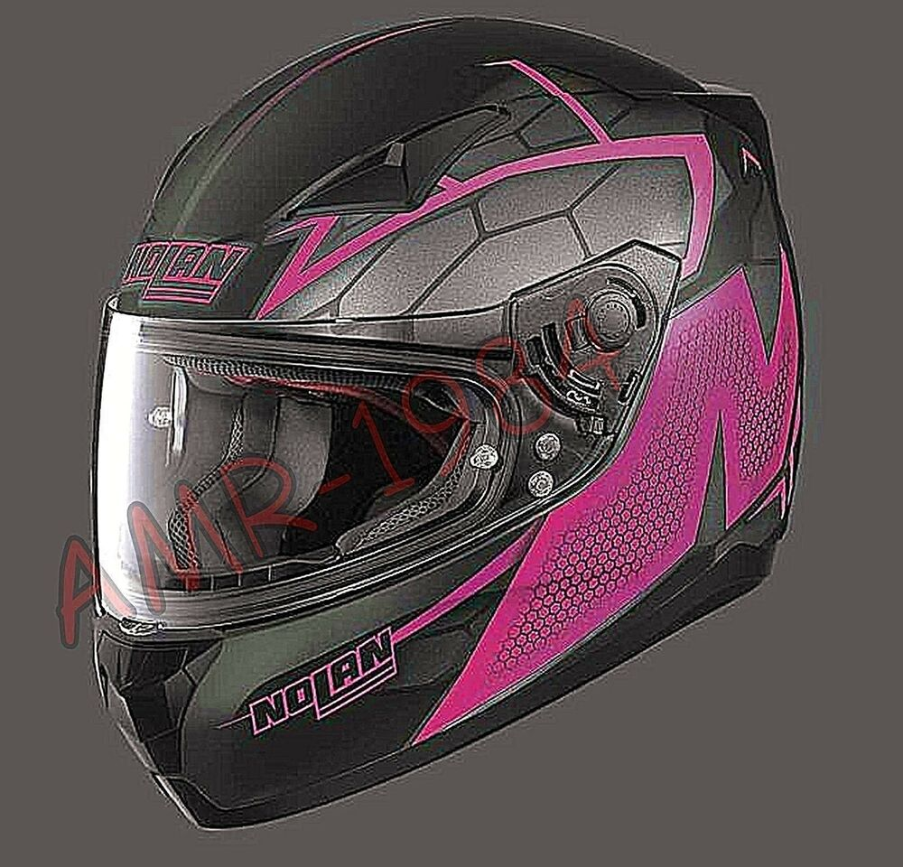 Details about FULL-FACE HELMET NOLAN N60-5 HEXAGON COLOR 17 PINK SIZE XS 1591f497b6353