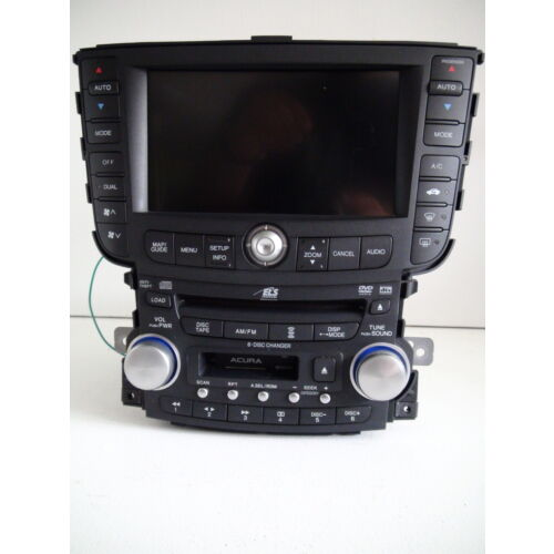 acura-tl-0406-6disc-cd-tape-player-audio-dvd-wnavigation-display-1tb2-wcode