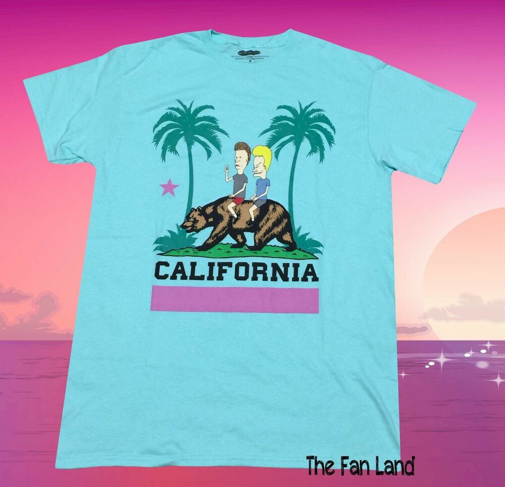 Details about New MTV Beavis And Butthead Mens California Vintage Classic T- Shirt
