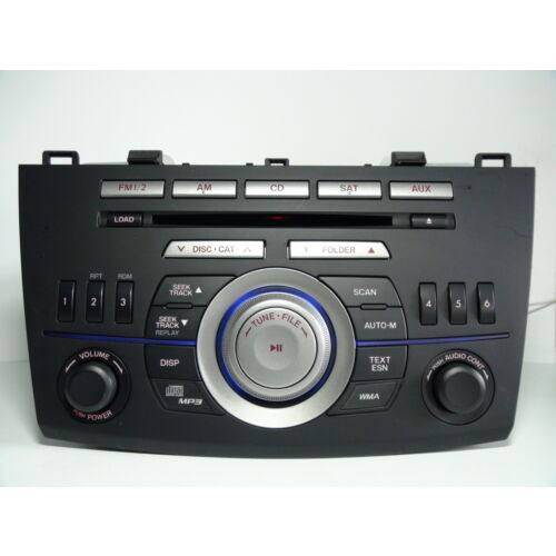 mazda-3-2010-cd-mp3-wma-sat-player-bbm266ar0a-bbm266ah0a-tested-51603g