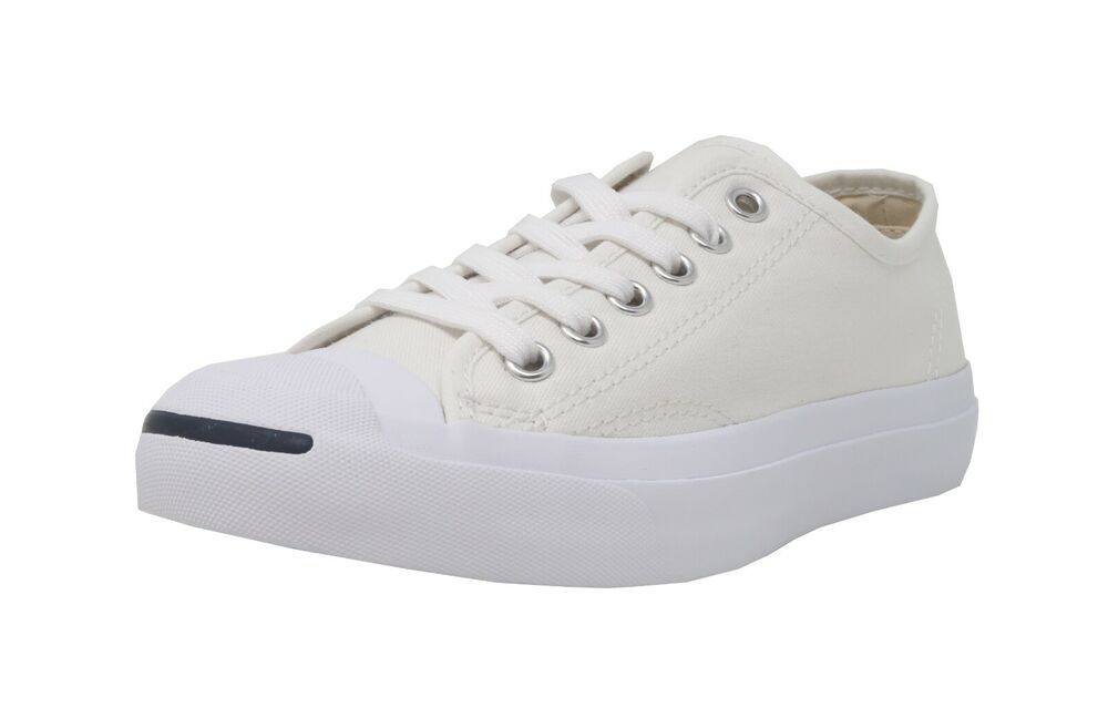 0c445f257cb8 Details about CONVERSE Jack Purcell Ox White Lace Up Canvas Fashion  Sneakers Adult Men Shoes