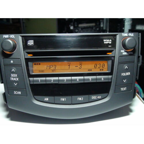 toyota-rav4-2006-2007-2008-cd-mp3-wma-player-11811-base-sound-see-test-video