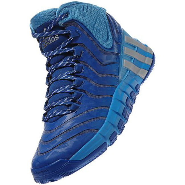 6a3fda34360 Details about Adidas Adipure Crazyquick 2 Basketball Shoes Sneakers Size 50  2 3 Blue NEW