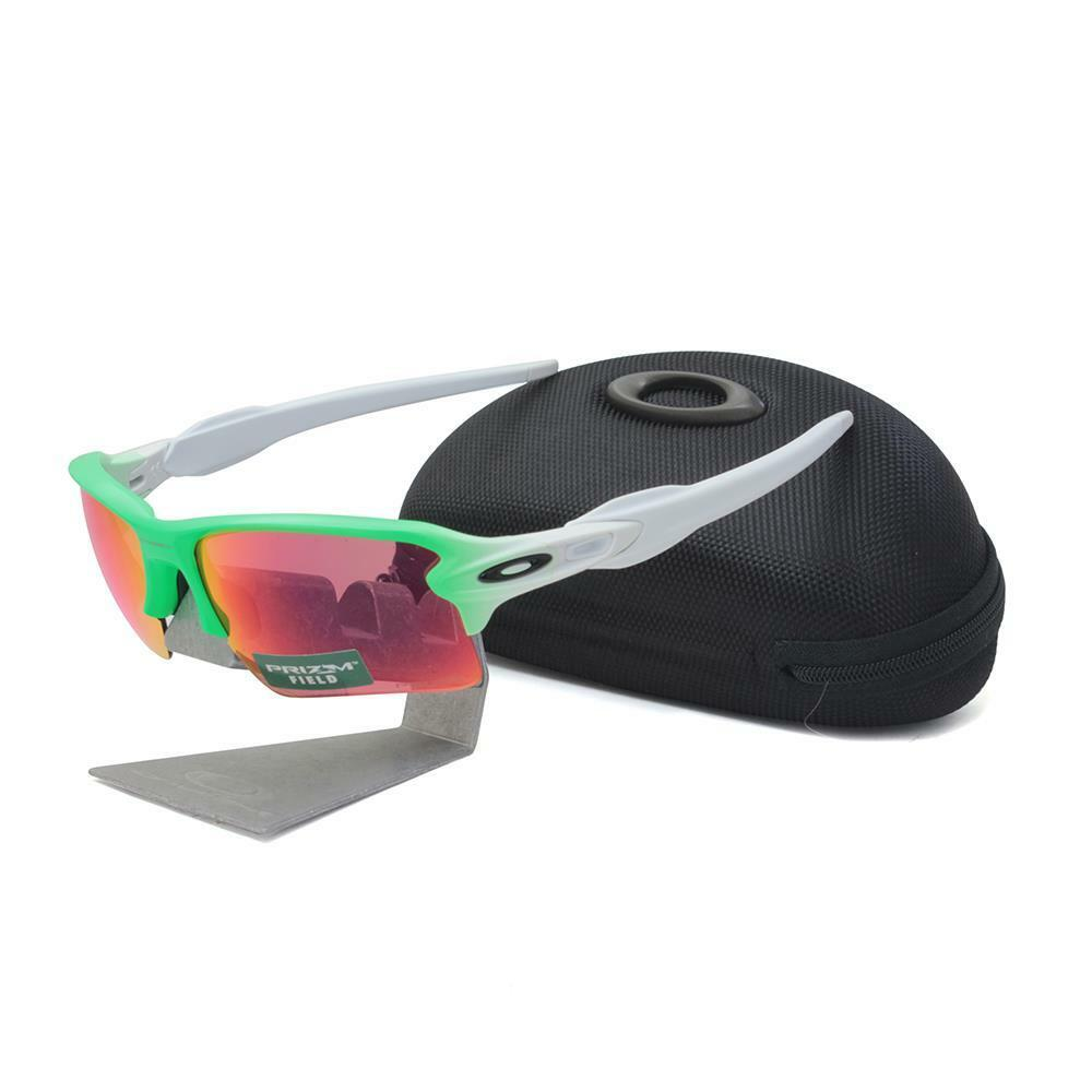 96e974ece2 Details about Oakley OO 9188-43 FLAK 2.0 XL Green Fade with Prizm Field  Lens Mens Sunglasses .