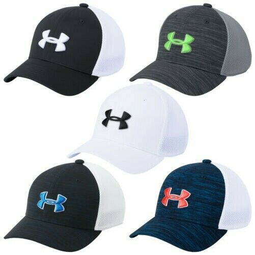 ae973176c34f3a Details about 2019 Under Armour Junior Classic Mesh 2.0 Cap - UA Golf Kids  Boys Baseball Hat