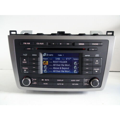 mazda-6-2010-6disc-cd-mp3-wma-wdisplay-sirius-phone-gea1669rxb-tested