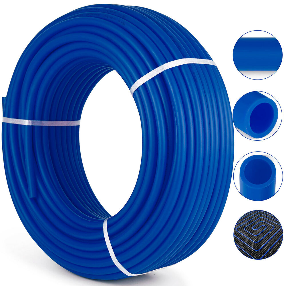 3 4 X 300ft Pex Tubing Pipe Non Oxygen Barrier Cold Water Residential Blue 882511296208 Ebay