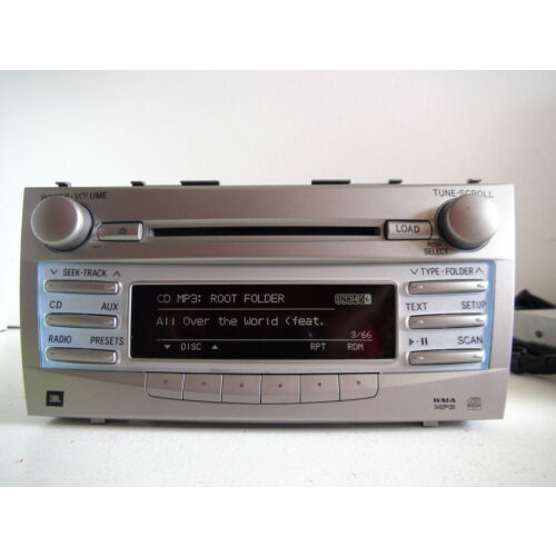toyota-camry-2010-2011-6disc-cd-mp3-wma-xm-player-changer-11847-jbl-sys-tested