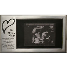Ultrasound / Sonogram Frame with a Heart for a 4x6 Horizontal Picture, NIB