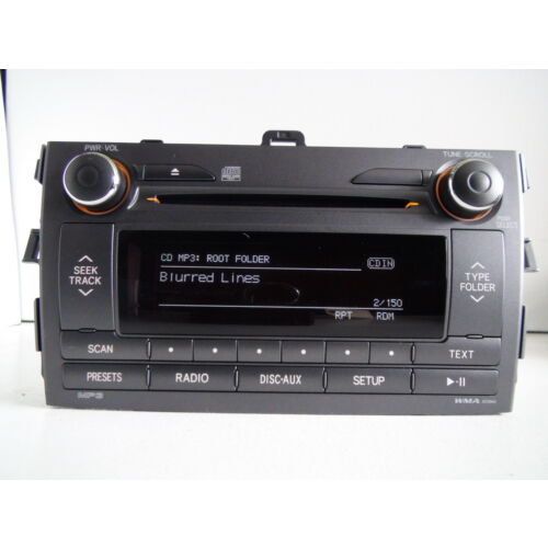 toyota-corolla-2011-2012-cd-mp3-wma-bluetooth-player-id-a518ah-tested