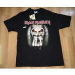 DEADSTOCK NWT Vintage  90s Iron Maiden T Shirt Up The Irons