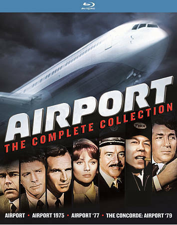 Airport: The Complete Collection [Blu-ray] New DVD! Ships Fast!