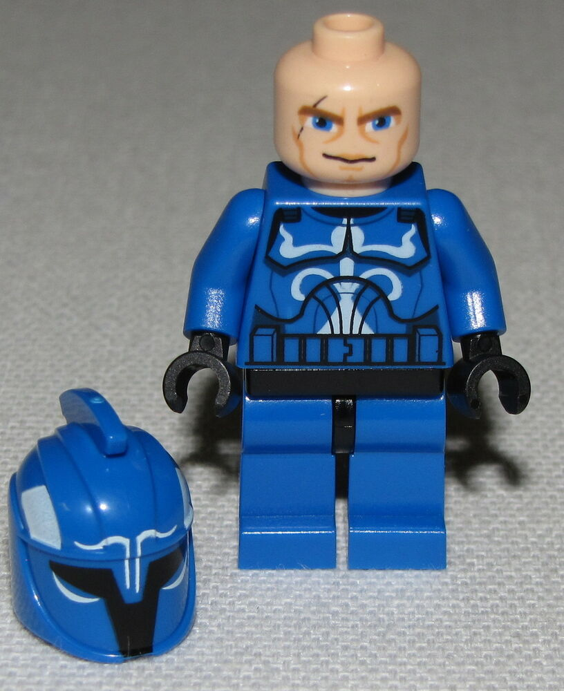 494 Lego Minifig Figur Senate Commando Captain 75088 Star Wars