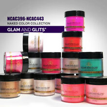 Glam and Glits - NAKED Acrylic Color Powder 1oz *Choose any one* (NCAC)