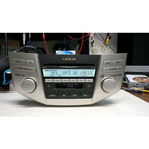 lexus-rx350-20072009-6disc-cd-mp3-wma-tape-sat-player-ap6867-p6863-tested