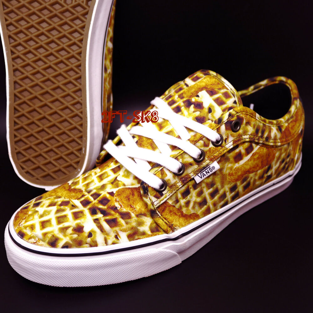 8a9c2154a6 Details about VANS CHUKKA LOW CHICKEN + WAFFLES MENS SKATE SHOES   ERA  S89107.354