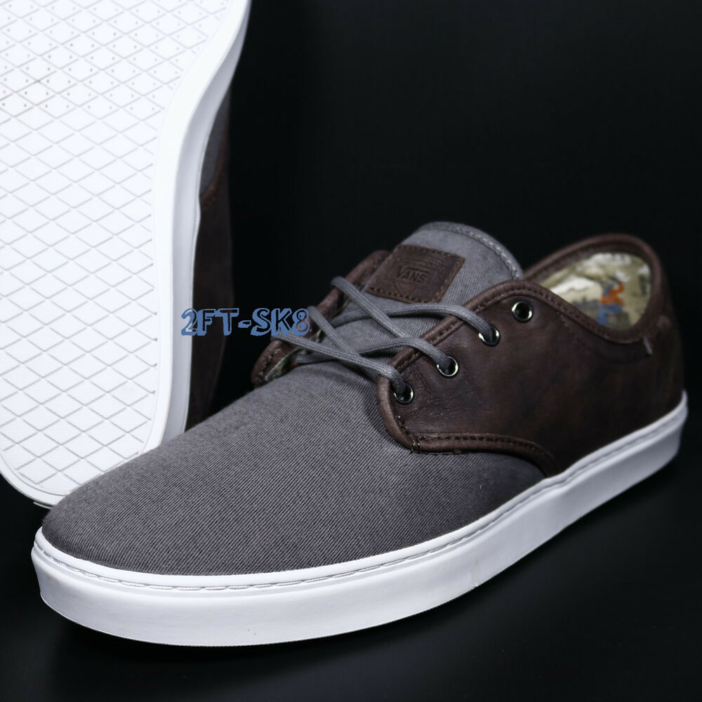 7bf26417f9 Details about VANS LUDLOW DESERT COWBOY PEWTER WHITE WOMEN S SKATE SHOES   S89105.95