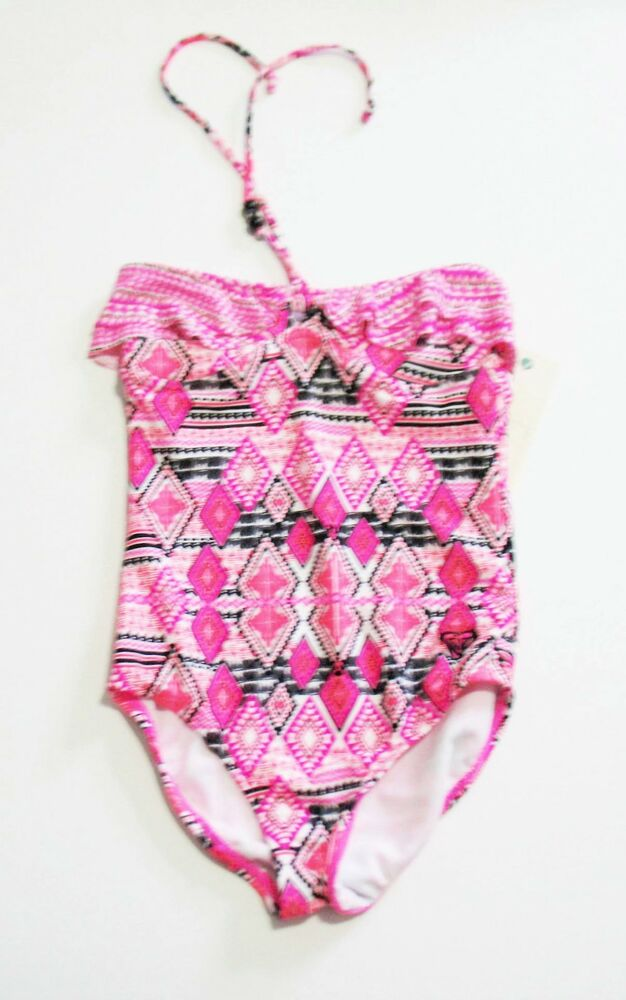 """NWT-Toddlers /""""Roxy Girl/"""" One Piece  Bathing Suit-/""""BluePrint/""""**"""
