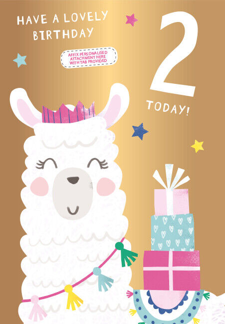 Details About Very Special Granddaughter Goddaughter Niece Sister Daughter 2nd Birthday Card