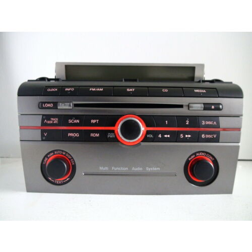 mazda-3-08-6disc-cd-player-changer-sat-bose-sound-metallic-trim-bar366ar-tested