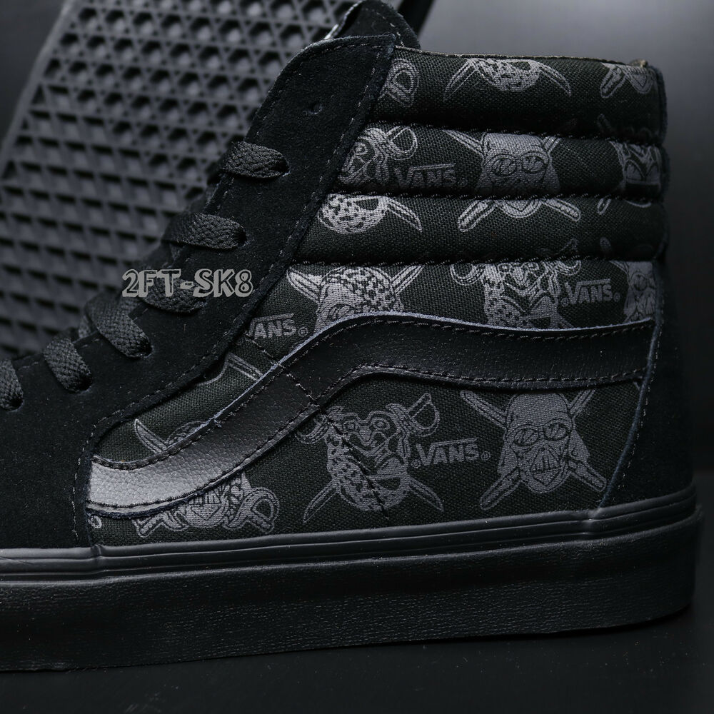 d716f956505653 Details about VANS SK8-HI STAR WARS DARK SIDE DARTH VADER STORM MEN S SKATE  SHOES S89246.922