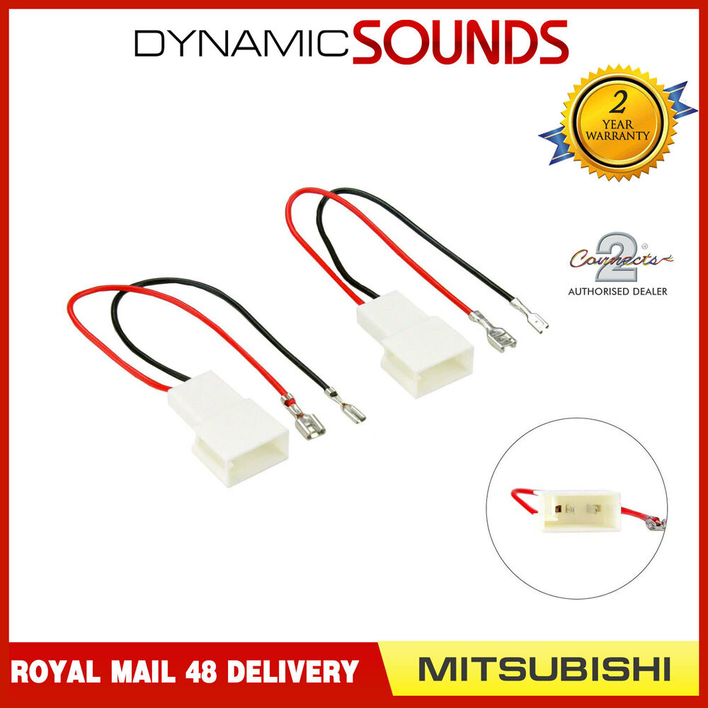 Ct55 Mt01 Car Speaker Adapter Harness Connectors For Mitsubishi 7426871579514 Ebay Wiring
