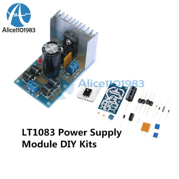 LT1083 Power Supply Adjustable Regulated Module Parts and Components DIY Kits