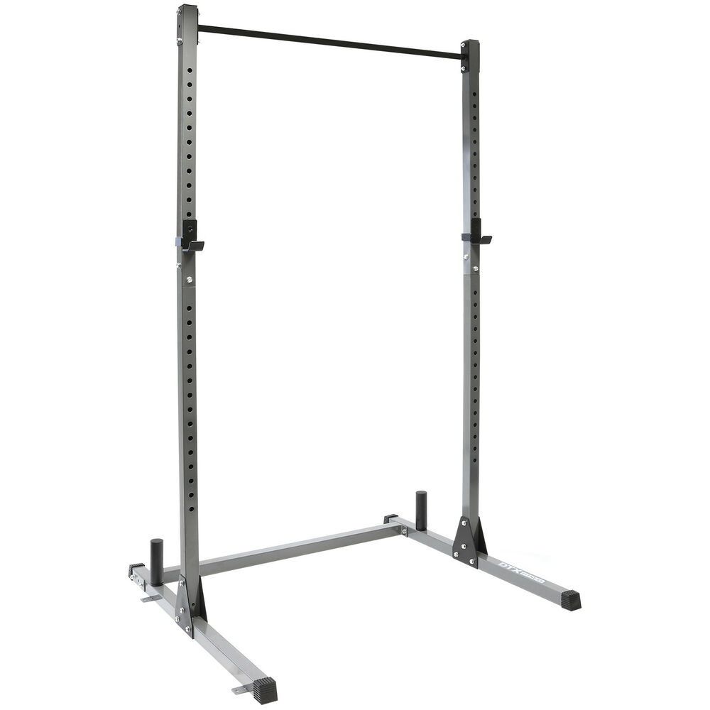 Dtx Fitness Olympic Squat Rack Power Cage Amp Pull Up Bar