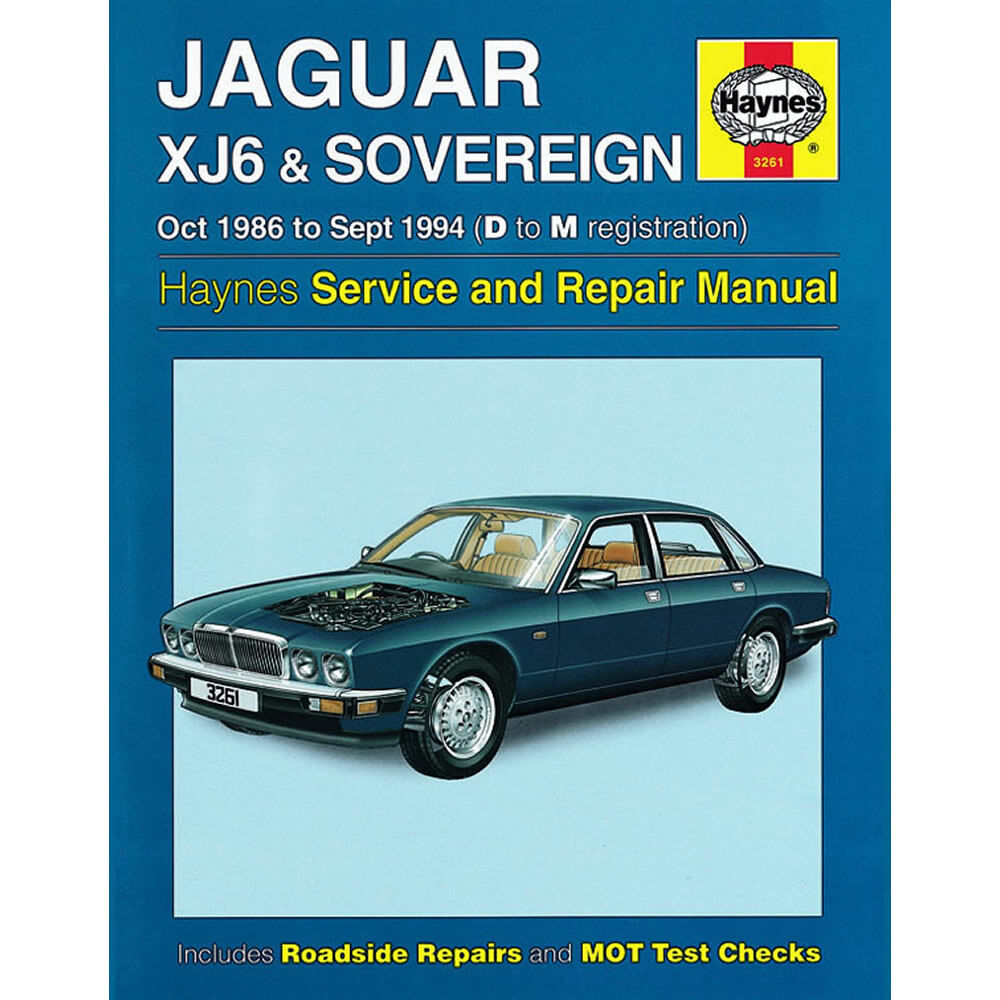 Jaguar XJ6 Sovereign Haynes Manual 1986-94 3.2 3.6 4.0 Petrol Workshop  38345032615 | eBay