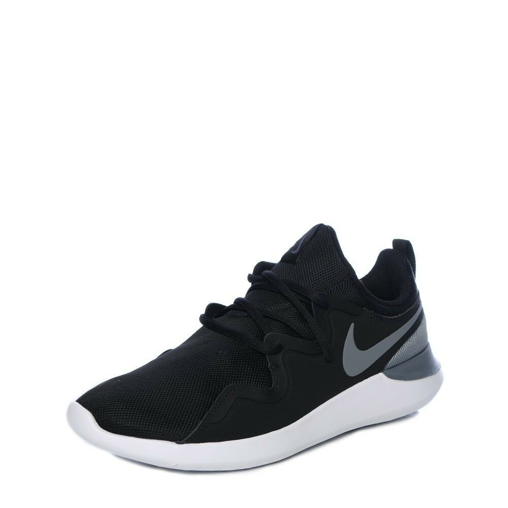 66d0a254c Details about Nike Men s Tessen Running Shoes AA2160 001 Black  Cool Grey White