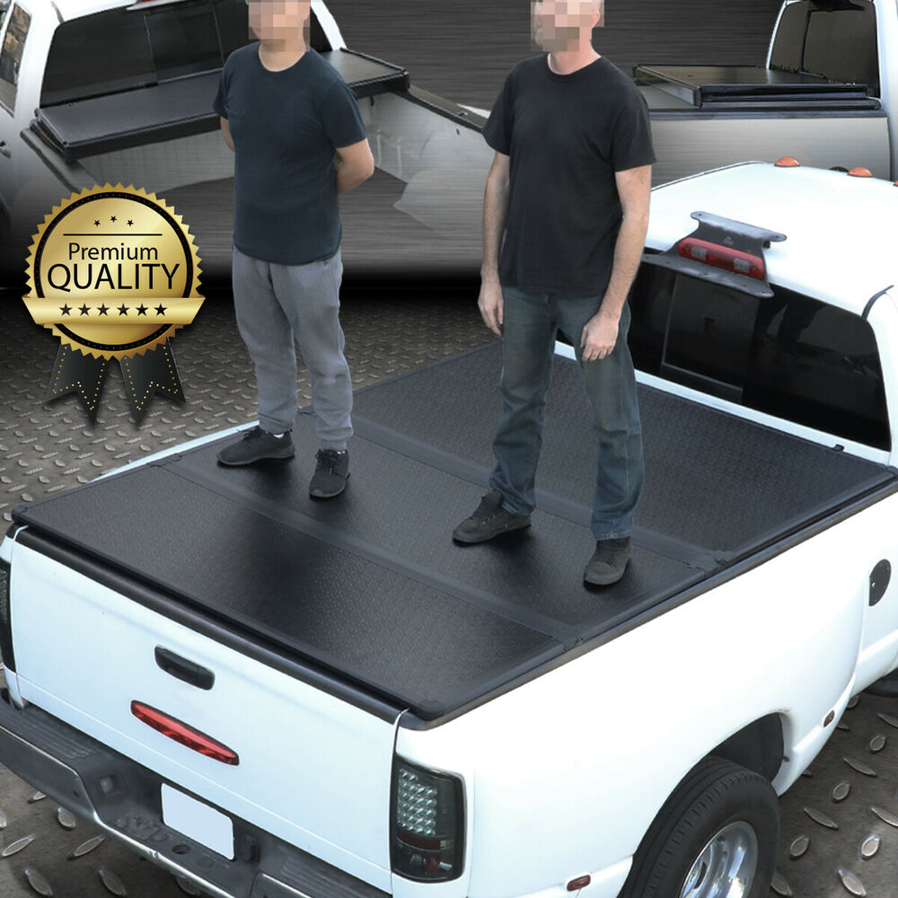 10f128f32e6 Details about FOR 05-18 TOYOTA TACOMA TRUCK 5FT SHORT BED HARD SOLID TRI-FOLD  TONNEAU COVER